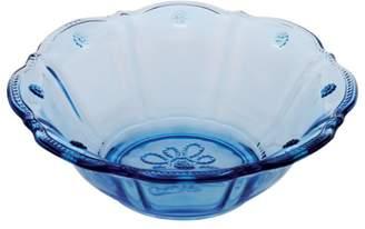 "Juliska Colette"" Hand Pressed Glass Dessert Bowl, Plum"