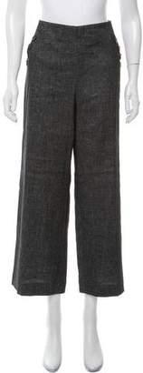 LK Bennett High-Rise Wide-Leg Pants w/ Tags