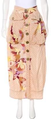 Missoni Printed Midi Skirt