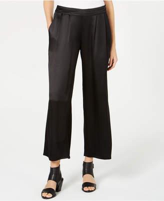 Eileen Fisher Silk Wide-Leg Pants