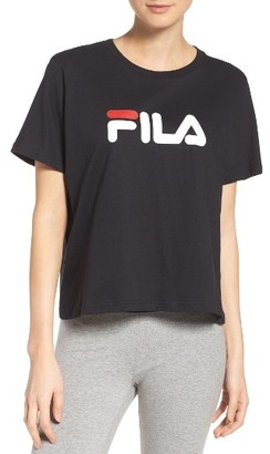 Women's Fila Miss Eagle Logo Tee $38 thestylecure.com