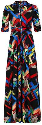 Dorothy Perkins Womens *Jolie Moi Black Multi Maxi Dress