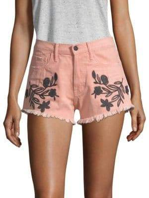 Sandrine Rose The Doll Embroidered Shorts