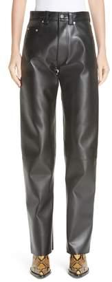 Moto Kwaidan Editions Faux Leather Pants