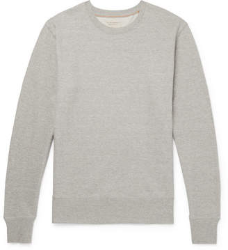 Nudie Jeans Evert Mélange Loopback Organic Cotton-Jersey Sweatshirt
