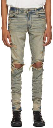 Amiri Indigo Thrasher Jeans