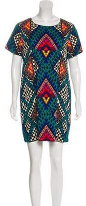 Mara Hoffman Geometrics Mini Dress