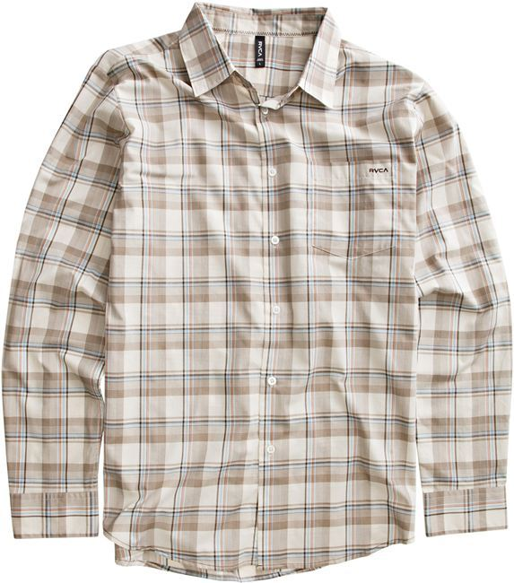 RVCA Uncle Joe Ls Shirt