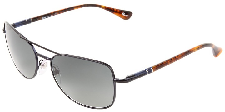 Persol PO2420S (Matte Night Blue/Gradient Smoke Lens) - Eyewear