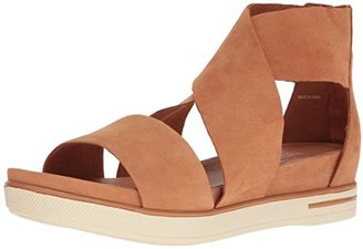 Eileen Fisher Women's Sport-Nu Flat Sandal $96.03 thestylecure.com
