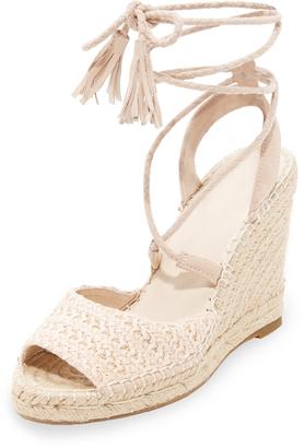 Joie Kacy Wrap Sandals $278 thestylecure.com