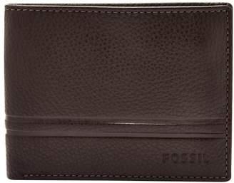 Fossil Wilder Flip ID Leather Bi-Fold Wallet