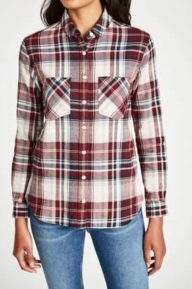 Jack Wills Breighton Boyfriend Plaid Shirt