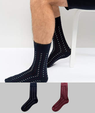Selected Socks In 2 Pack