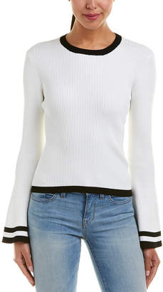 Central Park West Olympia Bell Sleeve Sweater