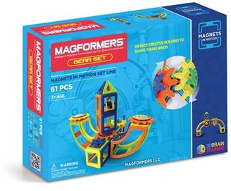 Toddler Magformers 'Magnets In Motion' Magnetic 3D Construction Set $99.99 thestylecure.com