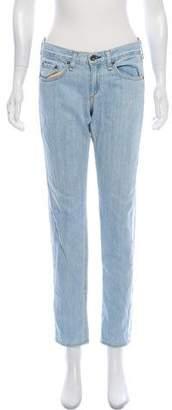 Rag & Bone Low-Rise Boyfriend Jeans