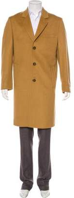 Michael Kors Wool Notch-Lapel Coat w/ Tags