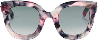 Gucci Oversized Marble Acetate Sunglasses