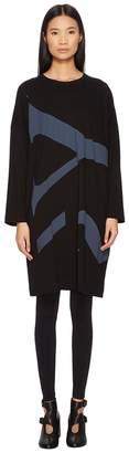 Yohji Yamamoto Y's by M-Rn Big-T Oversize Logo Tee Dress