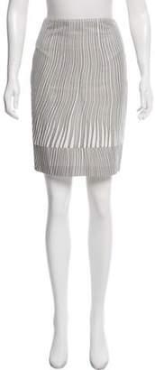 Max Mara Printed Knee-Length Skirt