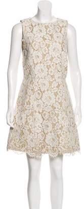 Alice + Olivia Sleeveless Lace Dress