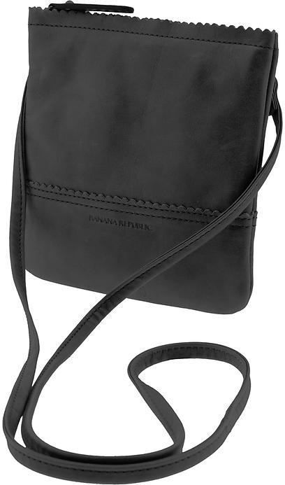 Banana Republic Paige leather cross-body