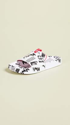 Puma x Shantell Martin Leadcat Graphic Slides