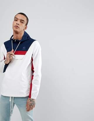 Reebok Half-Zip Track Jacket In White CE5073