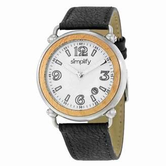 Simplify Men's SIM1601 The 1600 White Watch
