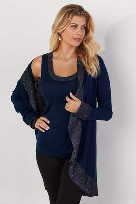 Soft Surroundings Evening Out Cardi