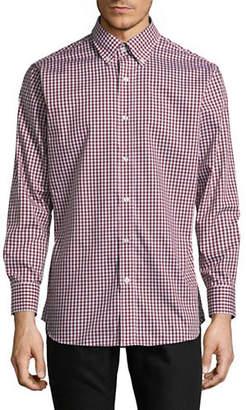 Nautica Cotton Gingham Button-Down Shirt