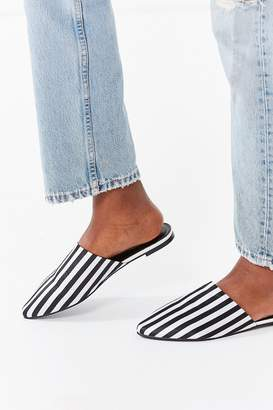 Urban Outfitters Striped Mule