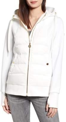 MICHAEL Michael Kors Hybrid Hooded Down Jacket