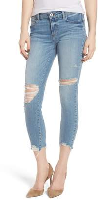 Paige Verdugo Ripped Crop Ultra Skinny Jeans