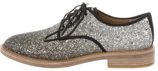 Marc By Marc JacobsMarc by Marc Jacobs Glitter Round-Toe Oxfords w/ Tags