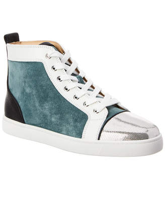 Christian Louboutin Louis Suede Sneaker