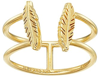Alex and Ani Feather Ring