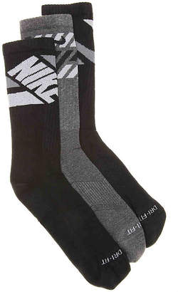 Nike Dry Cushioned Crew Socks - 3 Pack - Men's