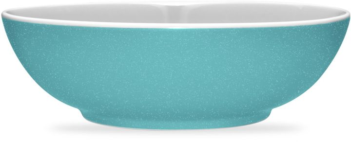 Noritake Noritake® ColorTrio Coupe Round Serving Bowl in Turquoise