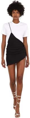 Jacquemus La Jupe Suera Asymmetric Jersey Skirt