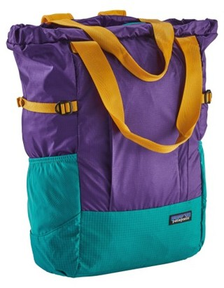 Patagonia Tote Backpack - Purple $79 thestylecure.com