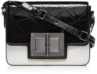 Tom Ford Natalia Day Bag Crossbody Medium Black/White