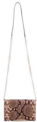 MICHAEL Michael Kors Embossed Chain-Link Shoulder Bag