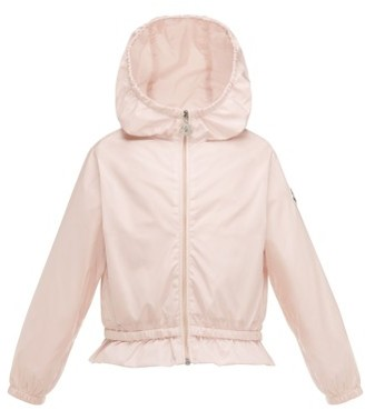 Toddler Girl's Moncler Camelien Hooded Water Resistant Windbreaker Jacket $195 thestylecure.com