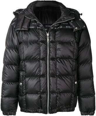 Versus hooded down jacket