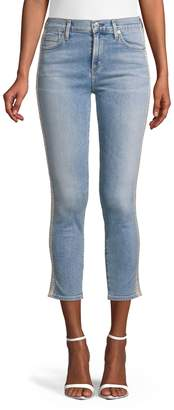 Citizens of Humanity High-Rise Cropped Jeans