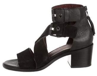 Rag & Bone Suede Crossover Sandals