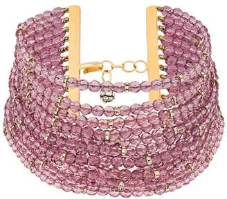 Valentino Pre-Owned 1980's faceted beads choker
