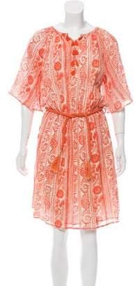 Antik Batik Printed Knee-Length Dress